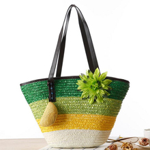 S057 hot new products for 2014 straw bags wholesale