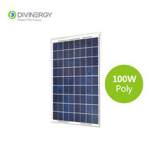 High quality A grade high efficiency 100W poly solar panel