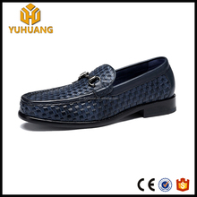 Woven Pattern Exalted Goodyear shoes genuine leather custom Shoes men rattan grain loafer Hand made shoes