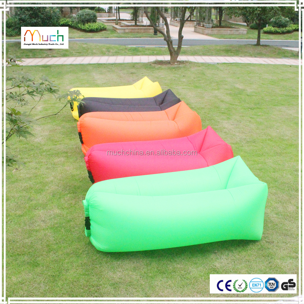 2016 newest colorful inflatable sleeping air bag