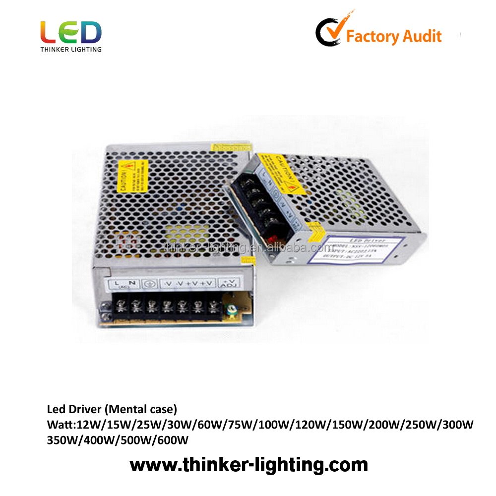 200W Energy Saving LED Transformer best quality power supply 12v /24v switch mode LED Driver