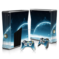 Multi designs hot selling skins sticker for Xbox 360 slim console controllers