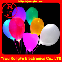 Best quality led ballon/led balloon toy/fixed color light led balloon