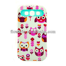 FL2557 2013 Guangzhou hot selling night owl phone case for samsung galaxy s3 i9300