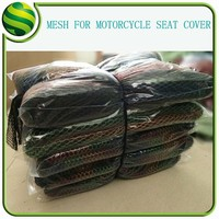 cool hexagonal mesh fabric for motorcycle seat cover with 100 polyester