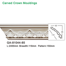 New PU decorative ceiling cornice polyurethane crown molding