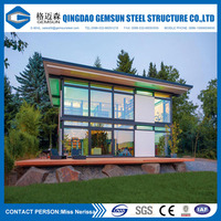 Prefab Foldinng Steel Container Home for Living