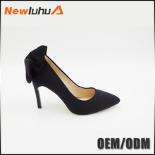 Cheap wholesale fashion high heels butterfly women shoes 2017 trendy
