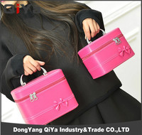 2015 The Latest Portable Lash PU Cosmetic Bag Women Travelling Cosmetic Bag