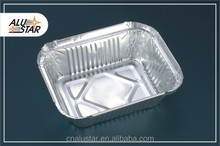 250ml aluminum foil food oblong disposable container