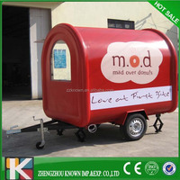 Mobile food cart/hotdog Vending machine Chinese food truck/food trailer