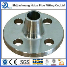 weld neck flange raised face dimensions