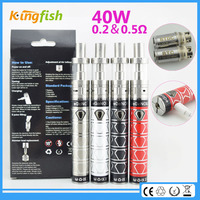New big vapor ecig 3ml capacity replacement ecig wicks with factory price
