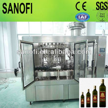 Full automatic bottled edible oil filling machinery / line