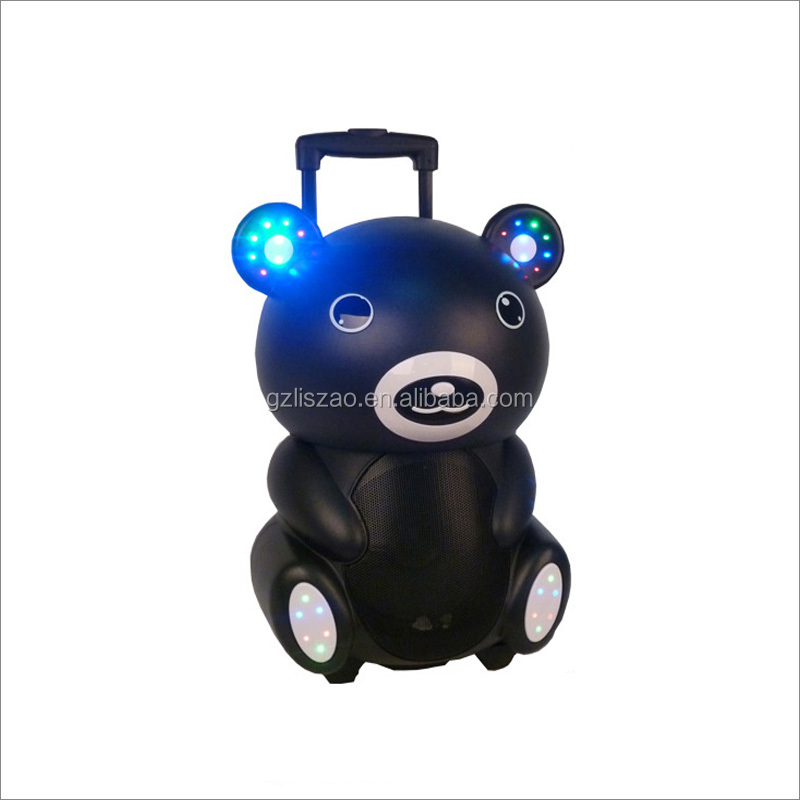 8'' inch woofer with bear cartoon decorate speaker