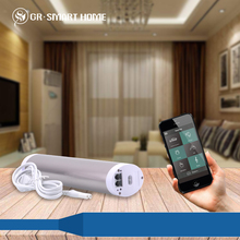 z-wave smart control remote electric curtain motor with efficiency for daily use
