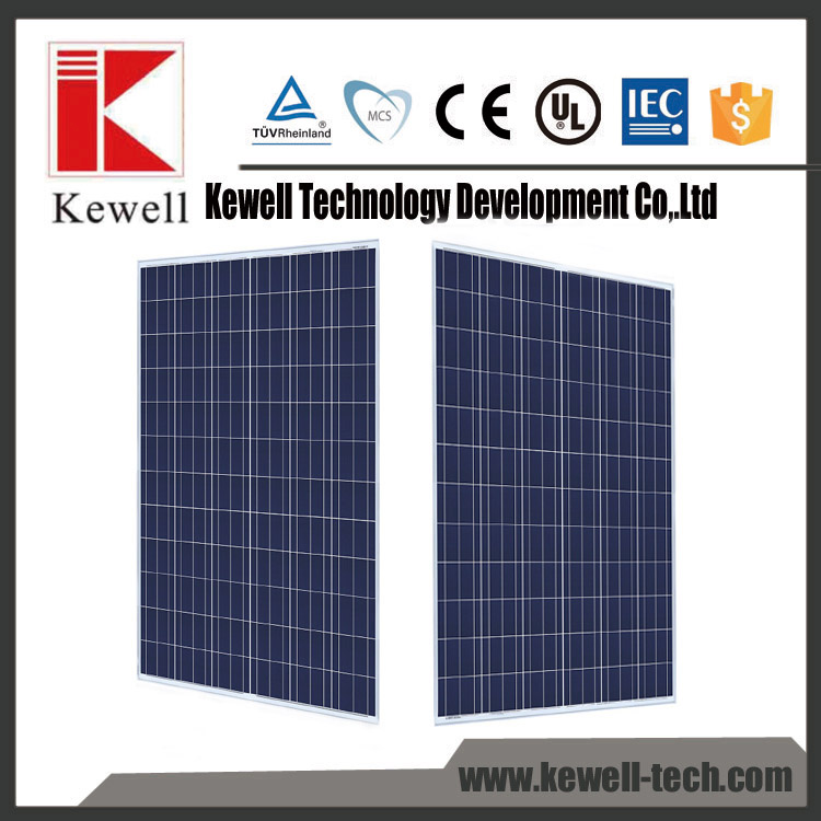 Made in china competitive price high quality high efficiency 250W poly PV panel