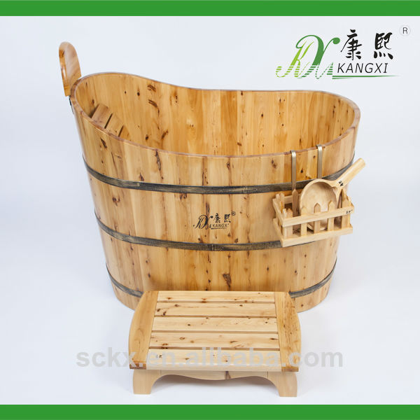 China classic design wooden bathing tub