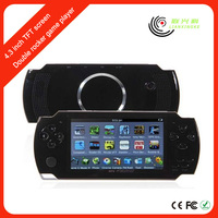 China 4.3 inch mp4 mp5 player games download freely With FM stereo radio
