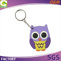 Cheap Price OEM 3D Custom Design Promotion PVC Keychain