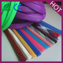 nylon pet braided cable sleeving