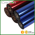 Best quality hot Sale Stock Cheap Blue Red hot stamping foil roll for plastic