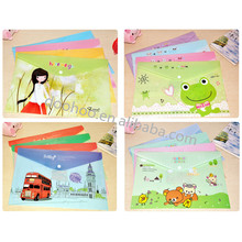 New Arrival clear plastic file folders clear plastic file envelopes