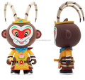 oem factory make custom eco-friendly material pvc toy/make custom beijing opera character monkey king action figure for souvenir