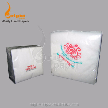 Wholesale Price Virgin Wood Pulp Printed Dinner Baby Disposable Paper Napkin