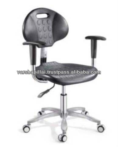 Adjustable Laboratory Stool with wheels / Drafting Chair