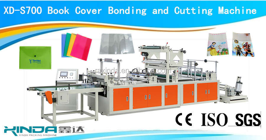 hardcover books with jacket making machine