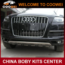 Top Quality Steel Material Q7 Front Bumper Guard For Audi Q7