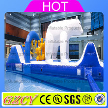 Kids water play toys inflatable water obstacle course game