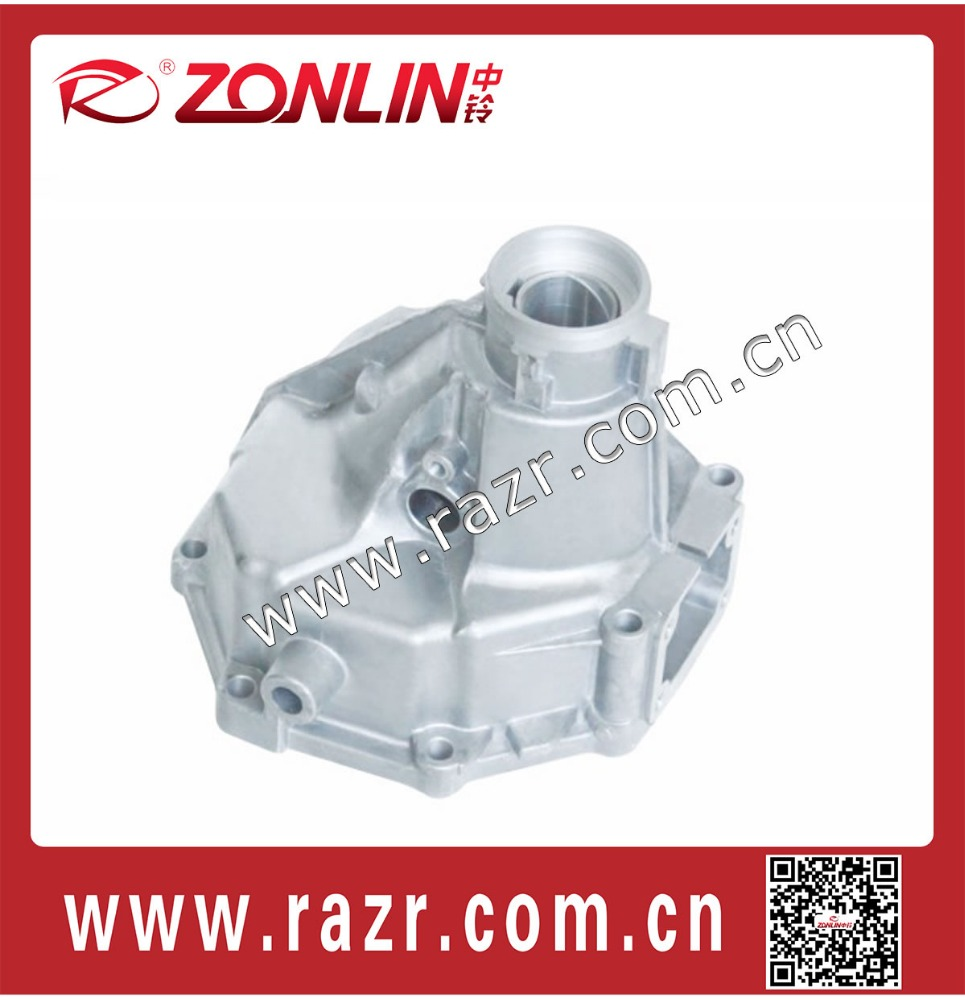 ZL-TO2001 Auto parts die cast aluminum back of gearbox housing for toyota 3Y 4Y jinbei hiace OEM 5RYA-1701042 / 5RYA1701042