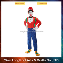 Wholesale halloween popular adult masquerade costume professional clown costume