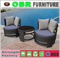 2017 China factory portable modern youth rattan coffee tea table and chairs sets