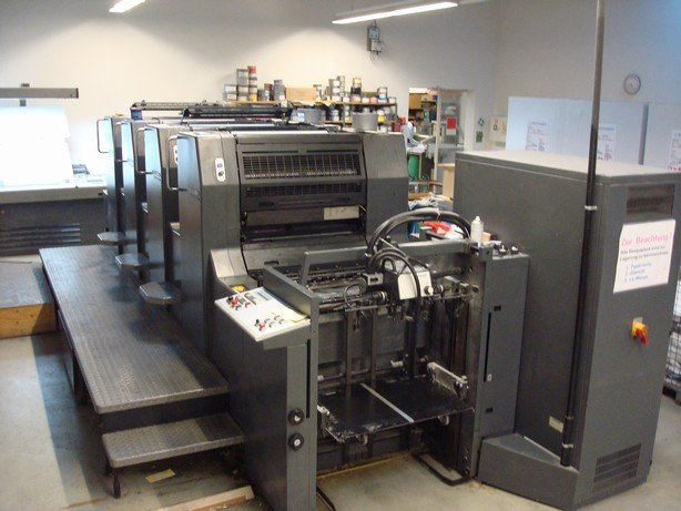 Heidelberg Speedmaster 74-4P3, age 1996 printer
