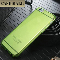 high quality clear tpu case for iphone 6, For iPhone 6 TPU Back Case