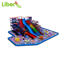 Children Indoor Play Center With Big Ball Pit