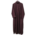 TC-SA01 Muslim High Quality Wholesale Men Saudi Arab Style Thobe Daffah Robe