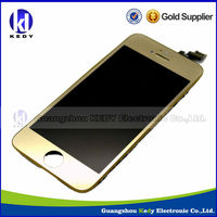 Mobile Phone Gold LCD for iPhone 5