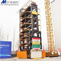 low power consumption Puzzle automated parking equipment automated car park rotary lift smart parking system
