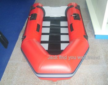 Slat floor 230 inflatable boat / pvc boat / fishing boat