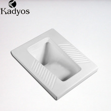 Modern wc sanitary wares elegant ceramic squatting pan toilet
