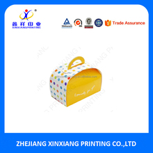 Hot Sale Lovely Customized Boxes Cheese Cake Packing Paper Packaging Box
