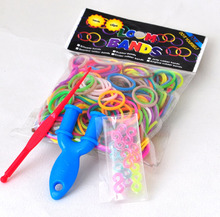 colorful loom elastic rubber bands made in china L-17