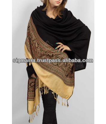 ladies wool shawl for winter
