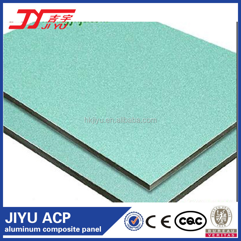 JIYU Brand High Quality Best price aluminum composite panel/acp for wall construction material
