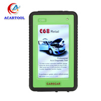 100% original free update online CareCar C68 retail professional for DIY care car c68 auto scanner support all OBD II protocols