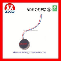 10mm diameter 2.7 thickness coin electric vibrating motor 3V